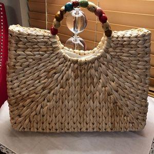Neiman Marcus Cappelli Straworld Inc Jeweled Purse